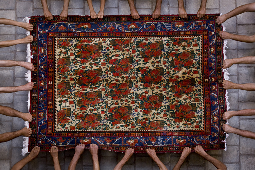Persian Rugs & the Iranian Everyday: Photographer Jalal Sepehr in Yazd