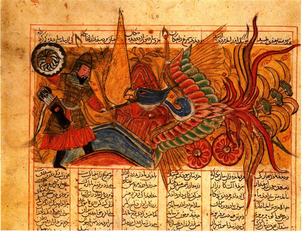 Combat-between-Isfandiyar-and-Simurgh-10