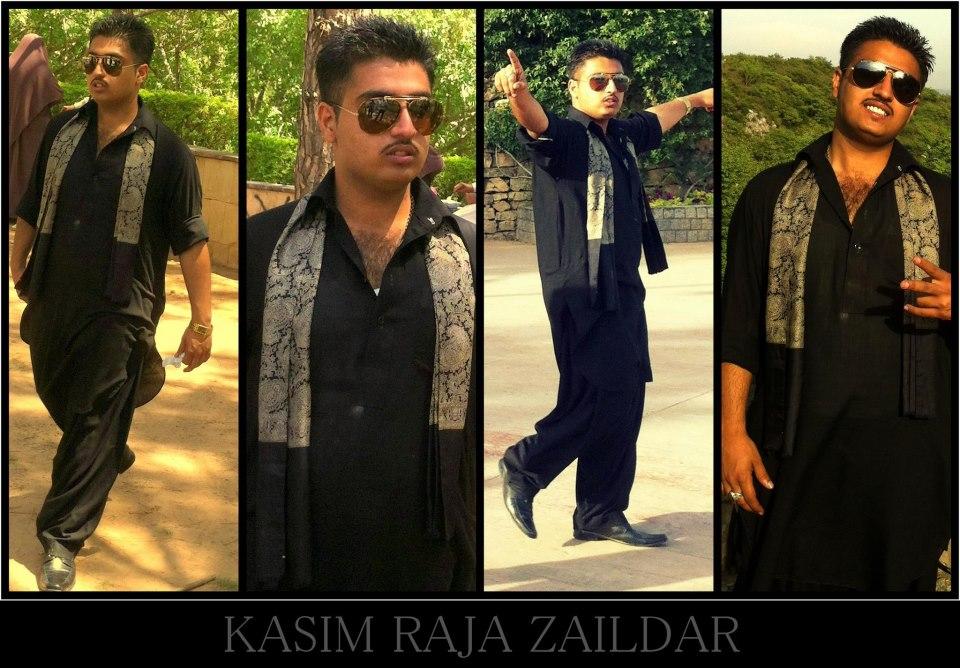 Punjabi rapper Kasim Raja