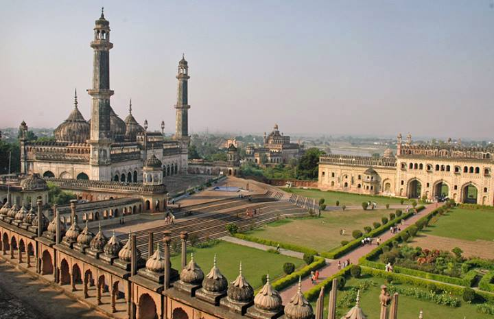 Bara (Asafi) Imambara in Lucknow, India, built by built by Moghul Nawab Asaf-ud-Daula in 1784 as a shrine for Muharram rituals