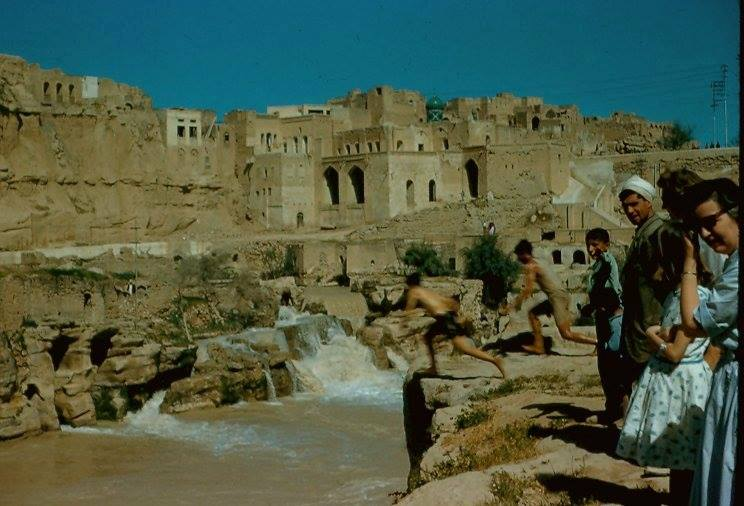 Taking a swim in Khuzestan, 1950s
