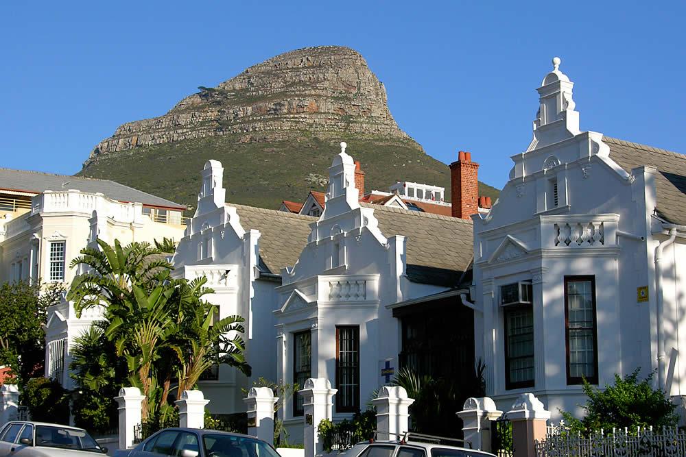Victorian architecture in Cape Town.